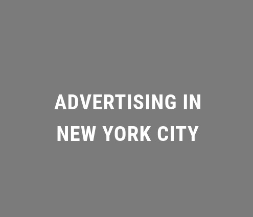 Advertising in New York City